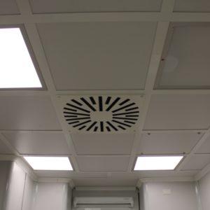 Потолочные конструкции для чистых помещений